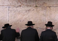 orthodox jews wailing wall