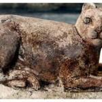 bastet cat statue temple egypt alexandria