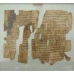dead sea scrolls image jordan