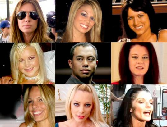 tiger woods women