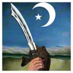 islam sword crescent moon