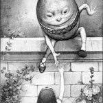 humpty dumpty sat on a wall image gospel