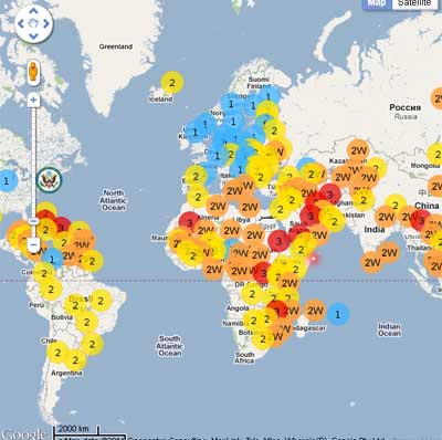 Modern Slave Trade Rampant Globally Freethought Nation - Map of slavery in the us