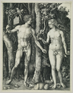 Adam and Eve by Durecht
