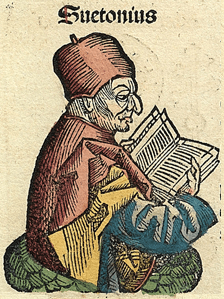 Suetonius, represented in the Nuremberg Chronicle