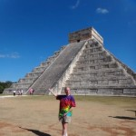 Acharya S at Chichen Itza