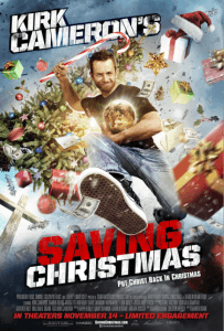 Kirk Cameron saves Christmas