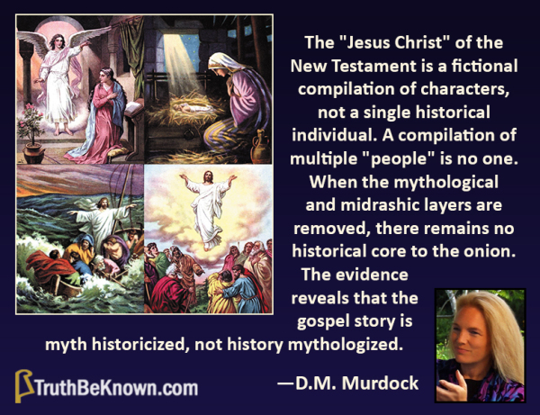Christ is a mythical character