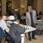 Chess Master Charles Covington played against children and adults for 30 games of chess at the same time!