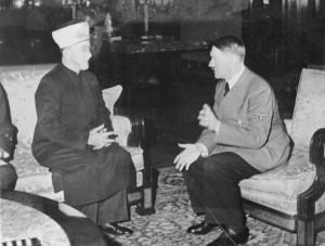 Jerusalem Mufti Amin al Husseini and Adolf Hitler