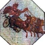 apollo sun chariot four horses quadriga