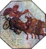 apollo sun chariot four horses quadriga