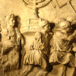 arch of titus menorah menorrah