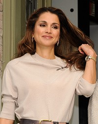 beautiful queen rania jordan