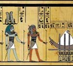 egyptian baby sun god sokar and triple god ptah-sokar-osiris