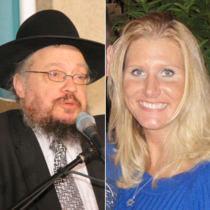 orthodox rabbi blond woman sex scandal