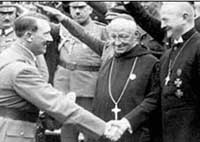 hitler christian catholic