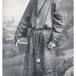 image of an Italian monk wearing