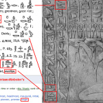 Isis as the Great Virgin in the Temple of Seti I