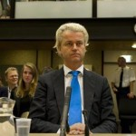 Geert Wilders at his trial (Photo: EPA)