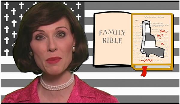 Mrs. Betty Bowers, America's best Christian