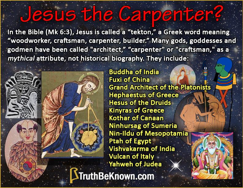 Jesus the carpenter?