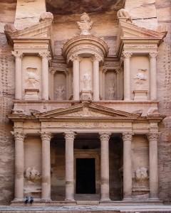 Archaeological site at Petra, Jordan