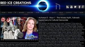 D.M. Murdock/Acharya S on Red Ice radio