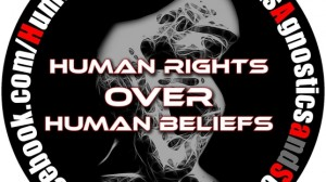Human rights over human beliefs