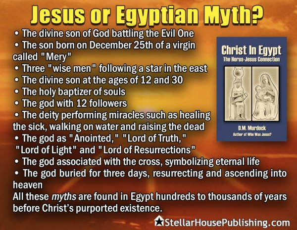 Jesus or Egyptian myth?