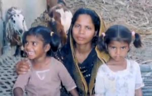 Asia Bibi and her children