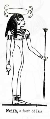 Neith-Isis, Virgin Mother