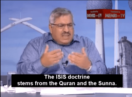 Islamic State doctrine comes from the Quran